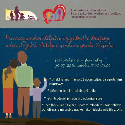 Najava promocije udomiteljstva u parku Maksimir