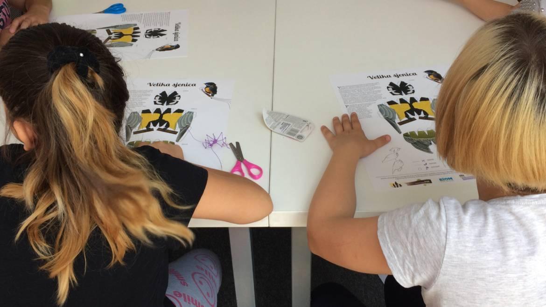 Edukativno kreativna radionica za djecu o pticama