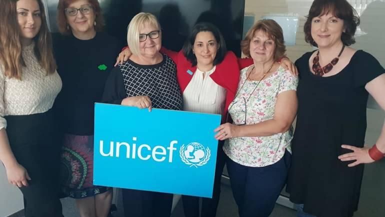 Upoznavanje s novom predstojnicom ureda UNICEF-a